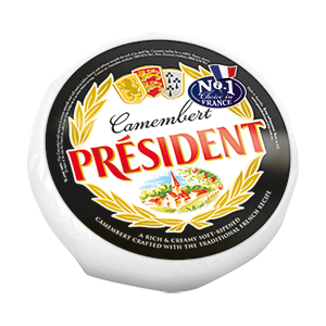 1kg Camembert Wheel by Président Cheese Australia