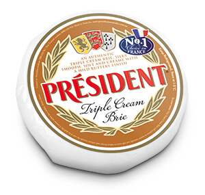 Triple Cream Brie - Président Cheese Australia