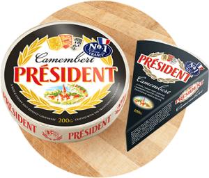 Products - Président Camembert Cheese in Australia