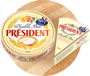 Products - Président Double Brie Cheese in Australia