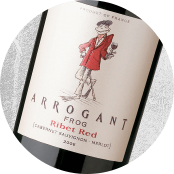 2013 Arrogant Frog Ribet Red Cabernet Merlot Wine pairing with Président Double Brie Cheese - Cheese & Alcohol Pairings