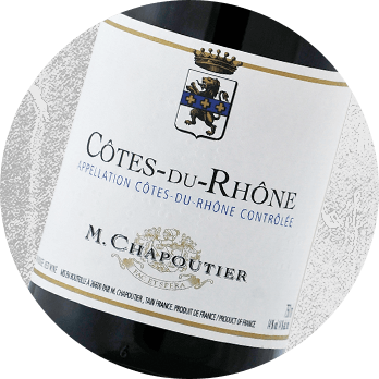 2013 M. Chapoutier Cote du Rhone Wine pairing with Président Double Brie Cheese - Cheese & Alcohol Pairings